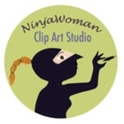 Ninja Woman Clip Art Studio
