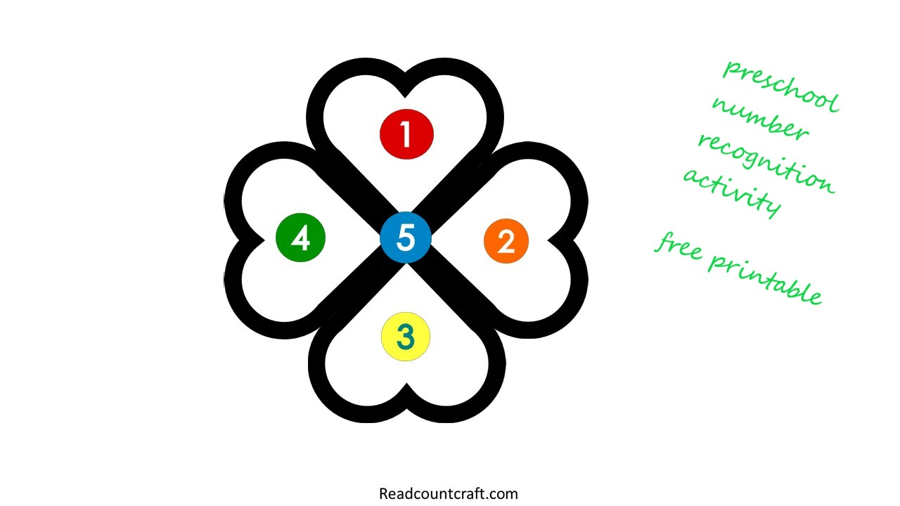 readcountcraft free printable number recognition activities