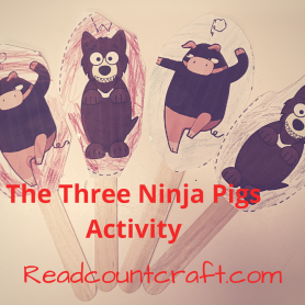 The Three Ninja Pigs Book Activity