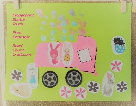 Easter Egg fingerprint Truck