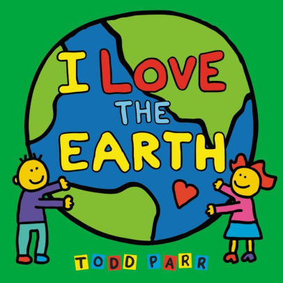 I LOVE THE EARTH Earth Day Craft Free Printable