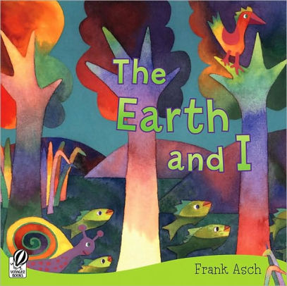 THE EARTH AND I Earth Day Craft Free Printable