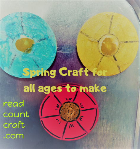Spring Craft Magnet
