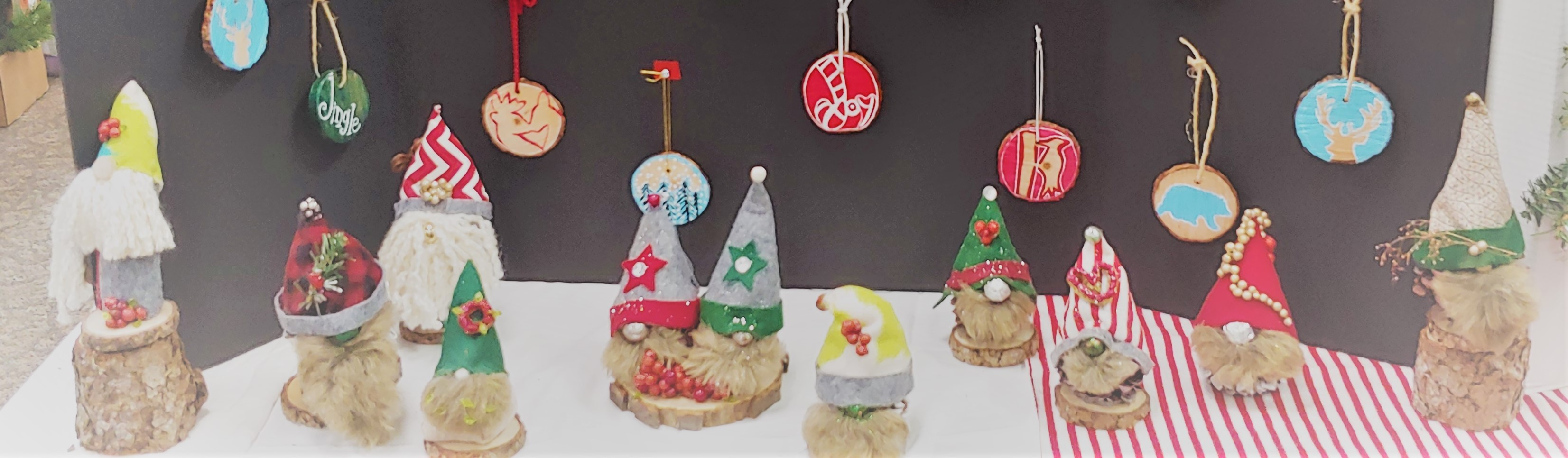 DIY Gnomies on Display
