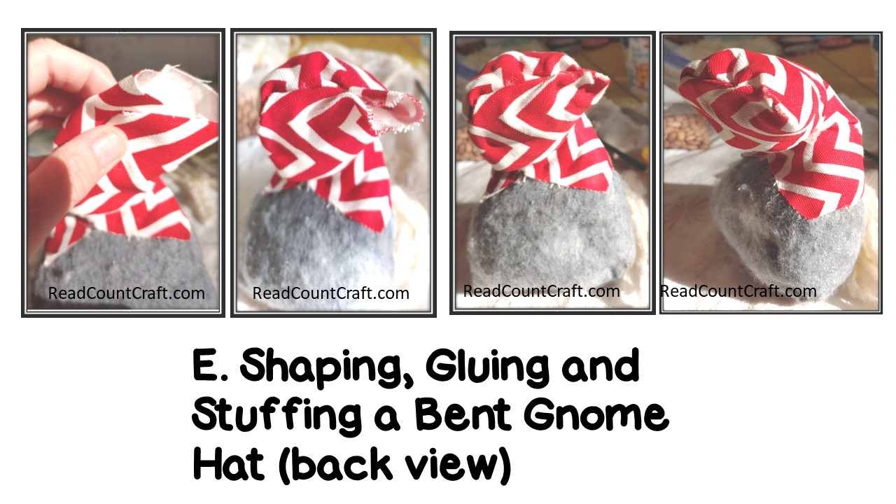 Making the Hat-DIY Bent-hat Gnome