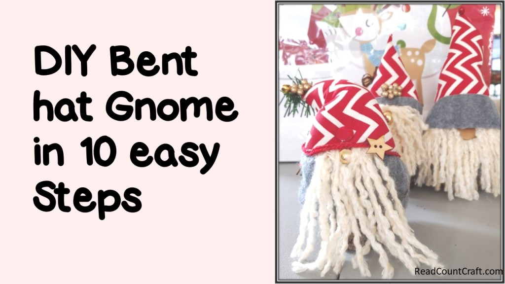DIY Bent-hat Gnome in 10 easy steps