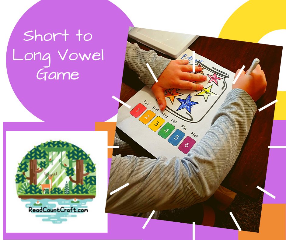 short to long vowels game